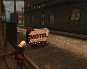 Motel and Second Life